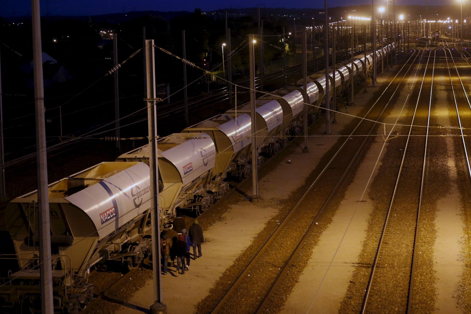 Calais Tunnel Closed