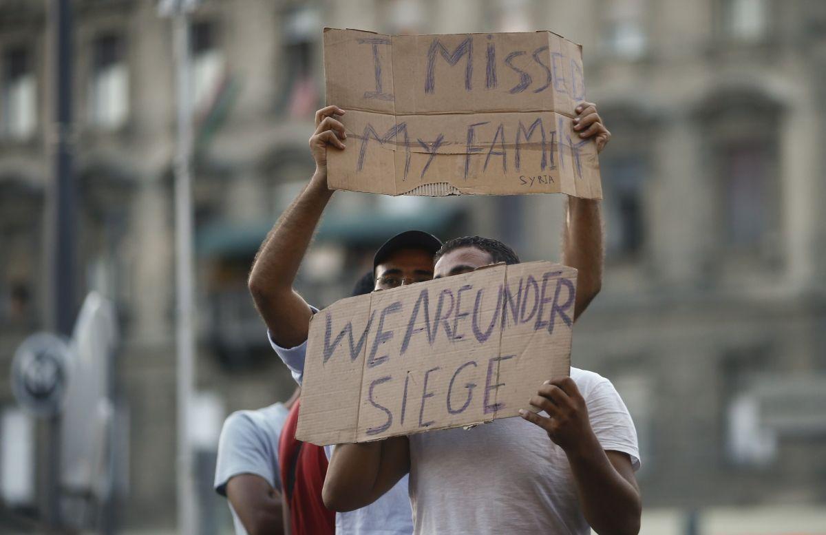 David Cameron faces migrant crisis