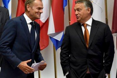 Hungarian PM German problem