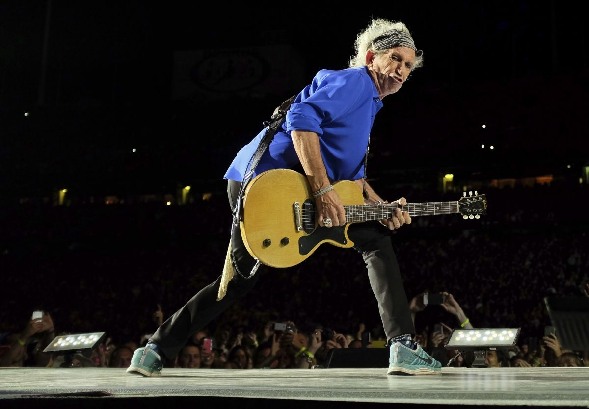 Rock Vet Keith Richards