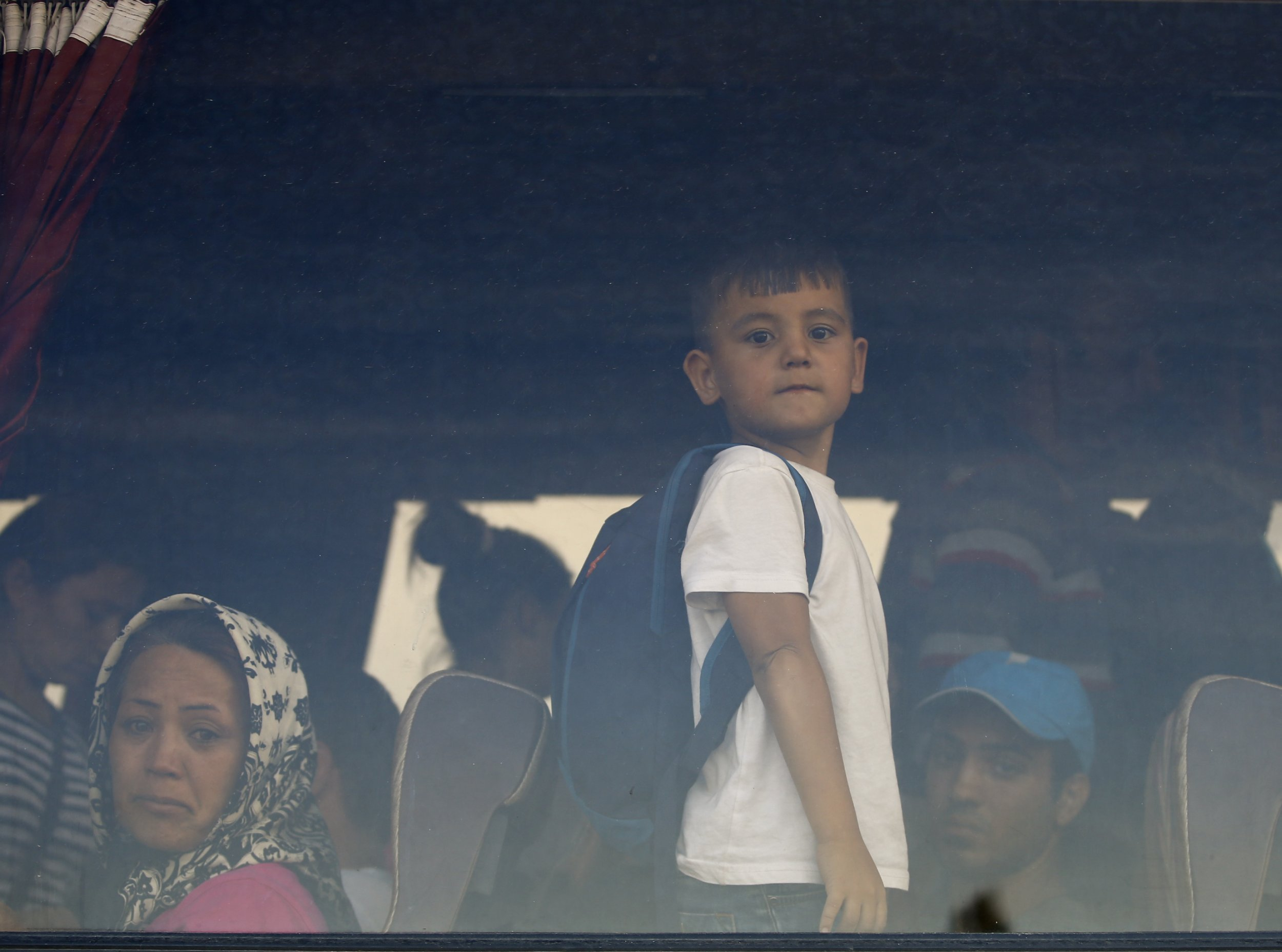 9/4 Hungary Refugees Train Camp