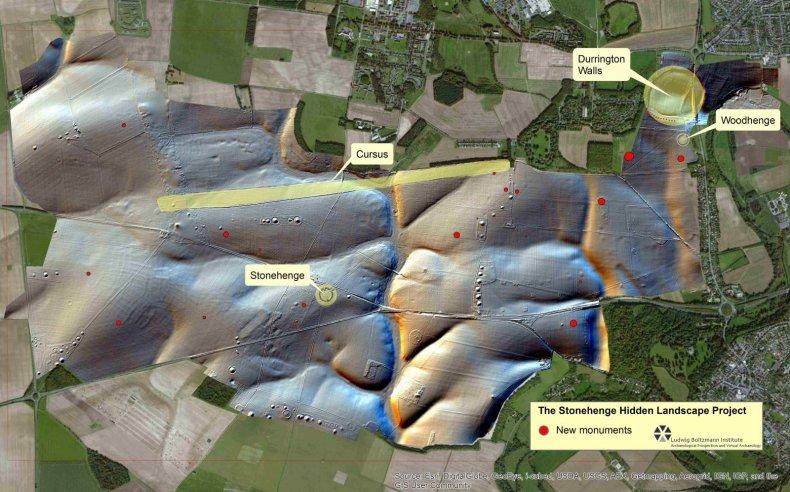 Stonehenge discovery site