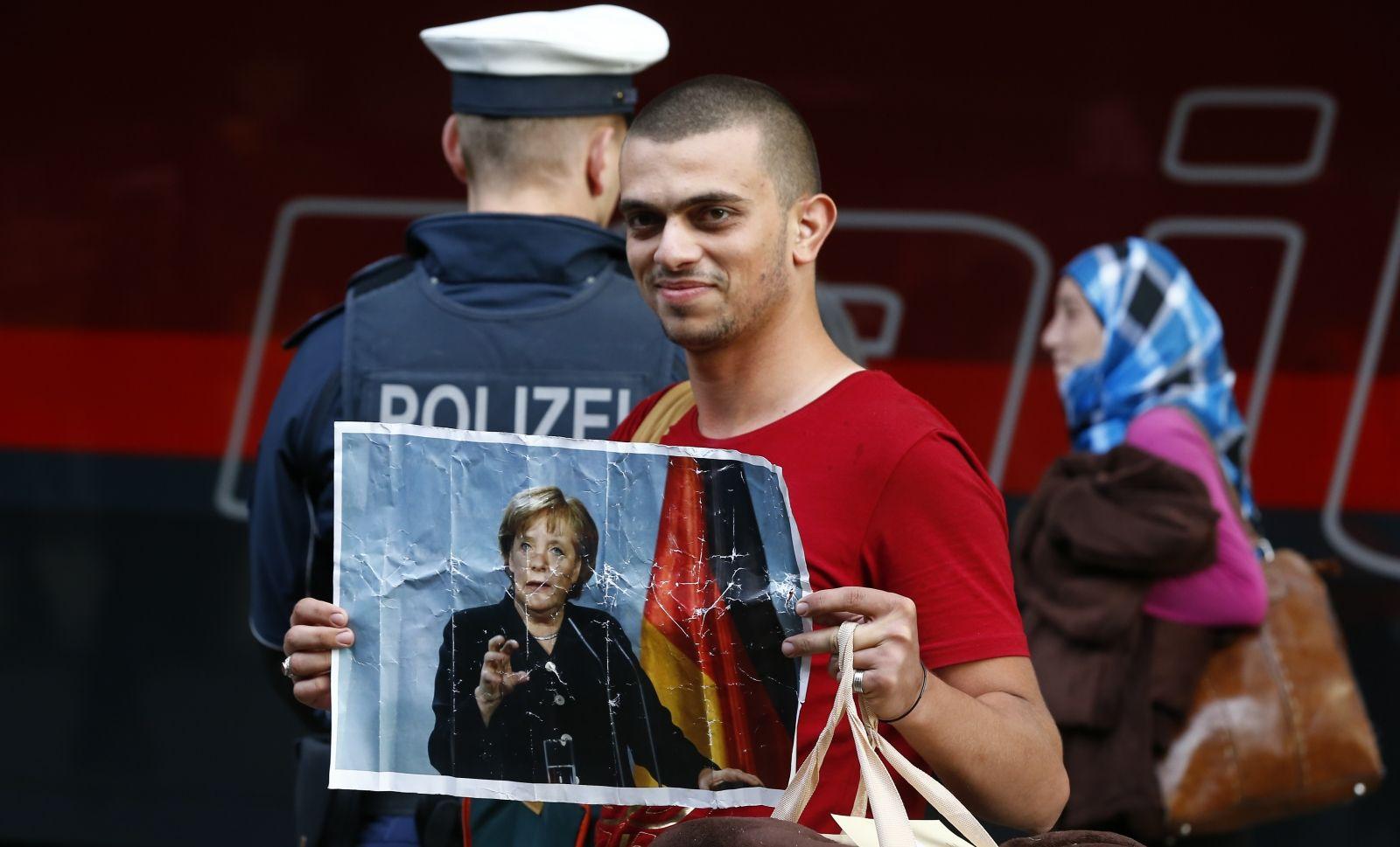 Migrant Germany Merkel