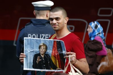 Migrant Germany Merkel