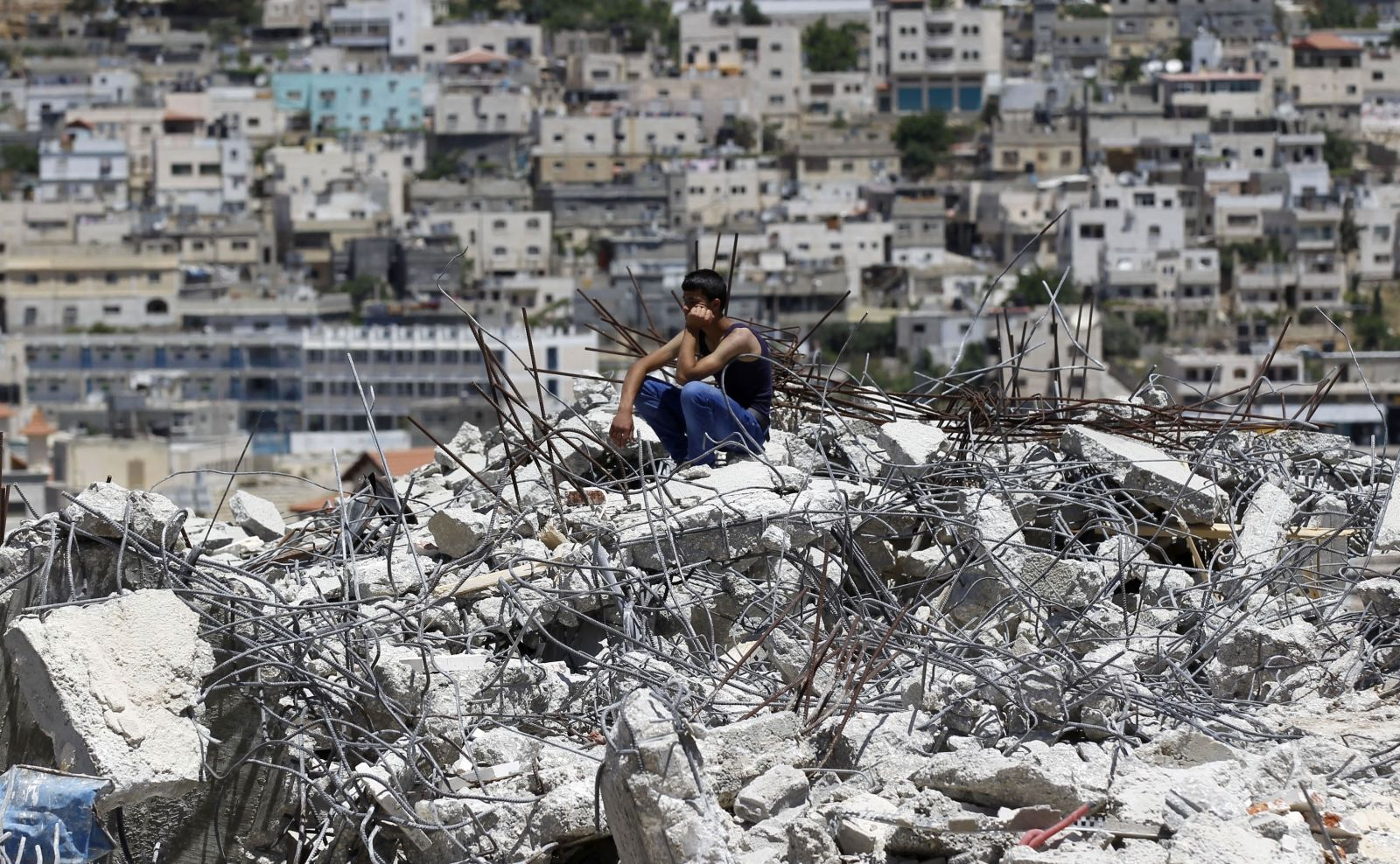 West Bank Demolitions UN Report