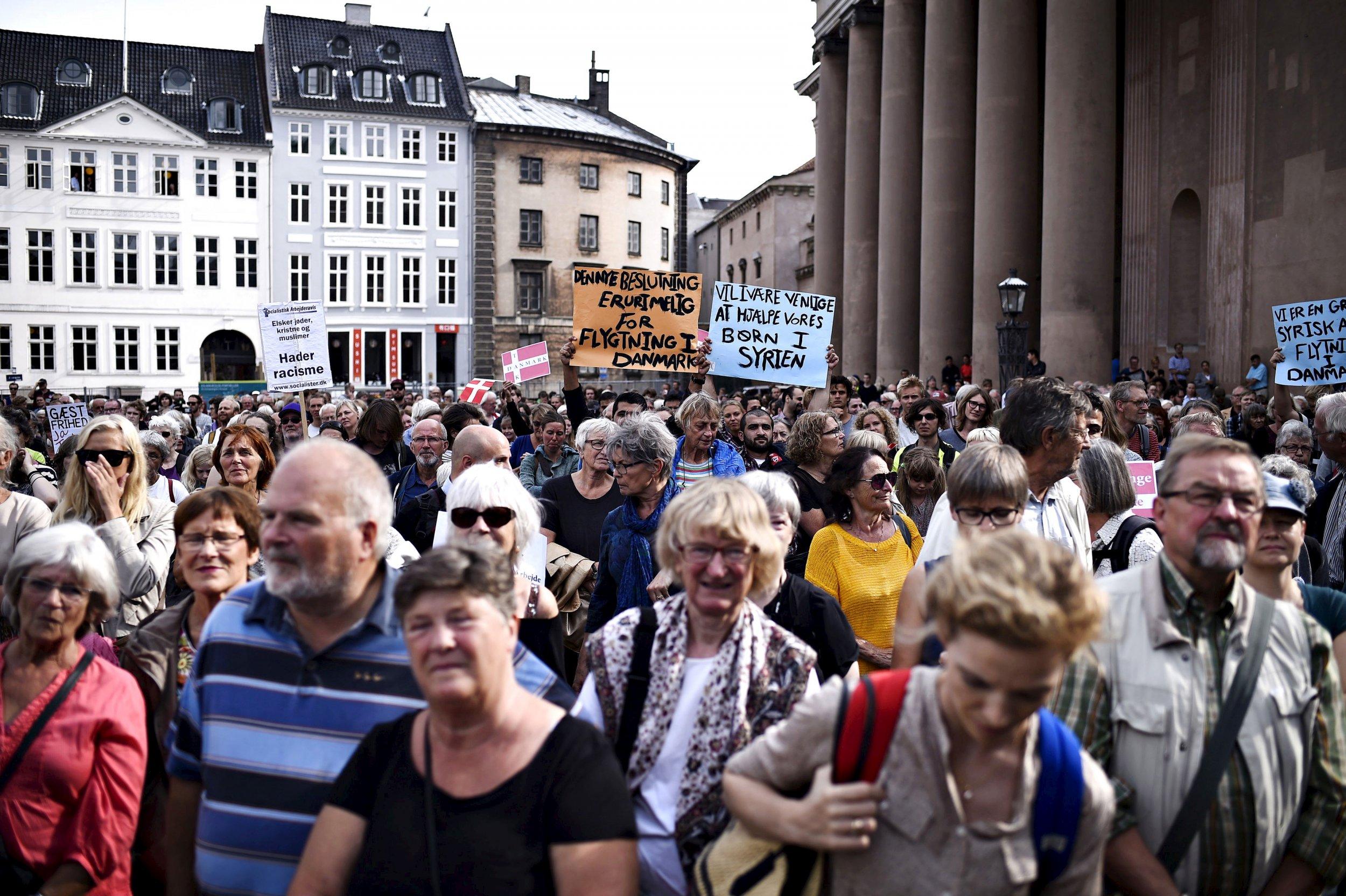 9-7-15 Denmark demonstration