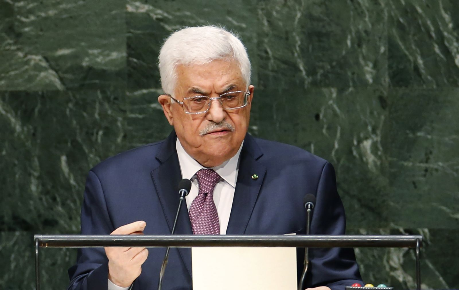 Abbas Oslo Accords UN Speech