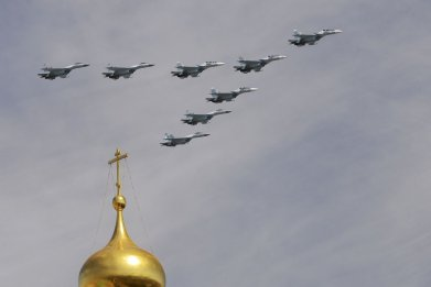 Russia Test Bombers