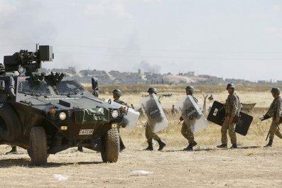 Turkey Soldiers
