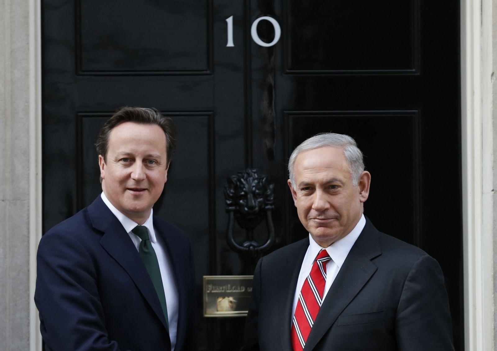 Cameron Netanyahu Britain Israel