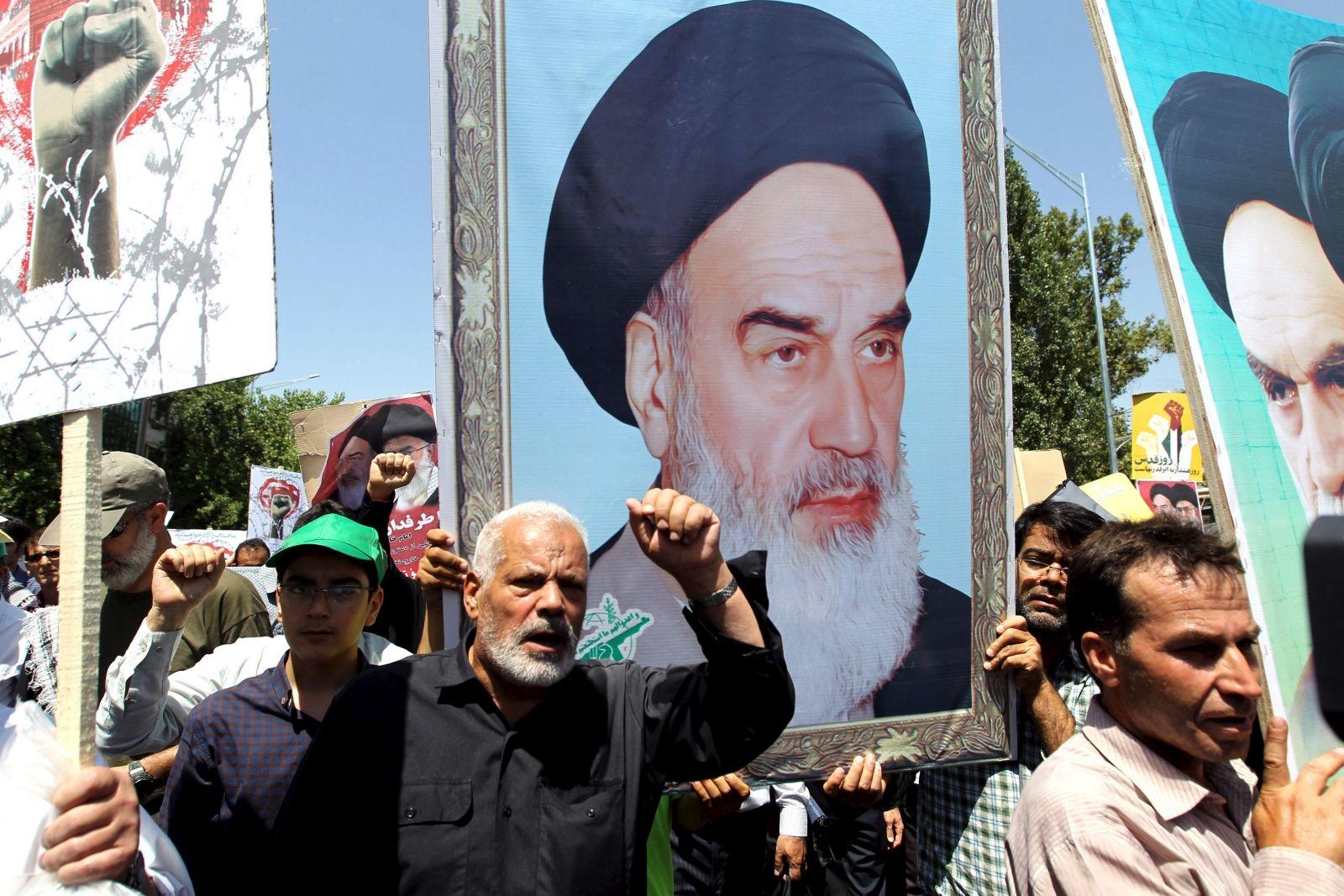 Ayatollah Khomeini Israel Iran