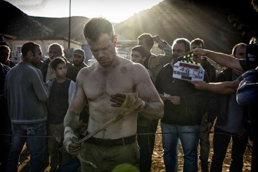 Picture from set of new Bourne film