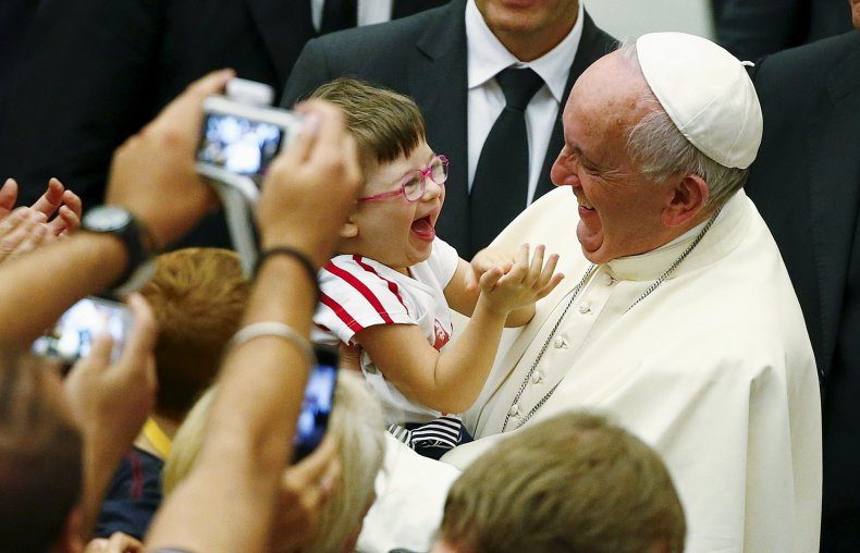 9/9 Pope Francis Children Mass