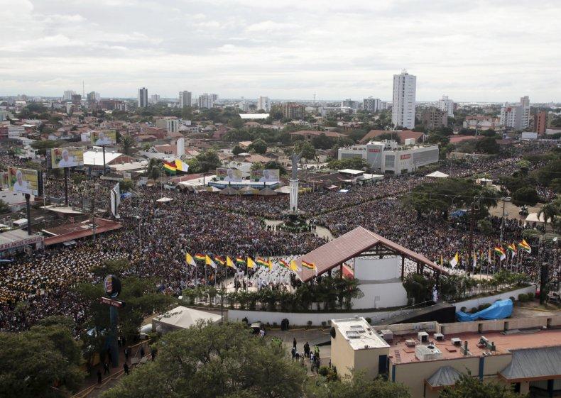 9/9 Pope Francis Mass Bolivia