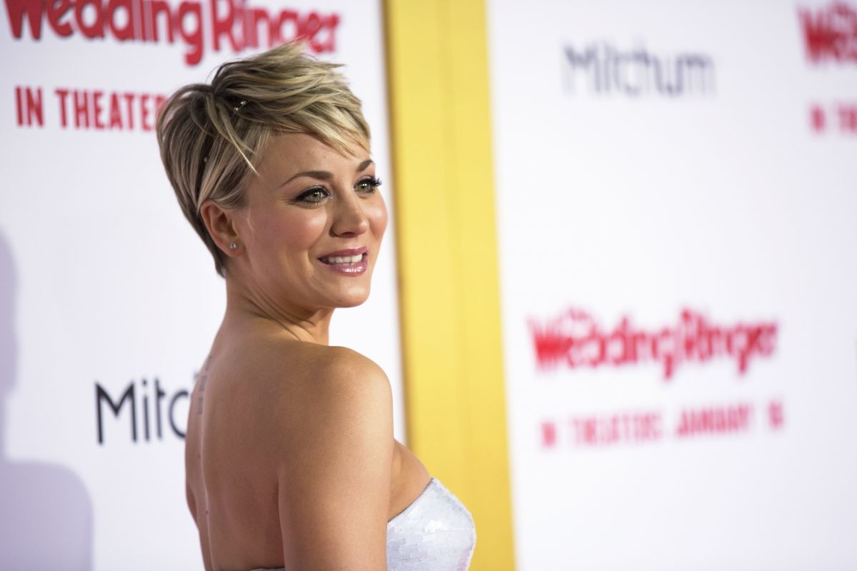 Cuoco sweeting nackt kaley Who Is