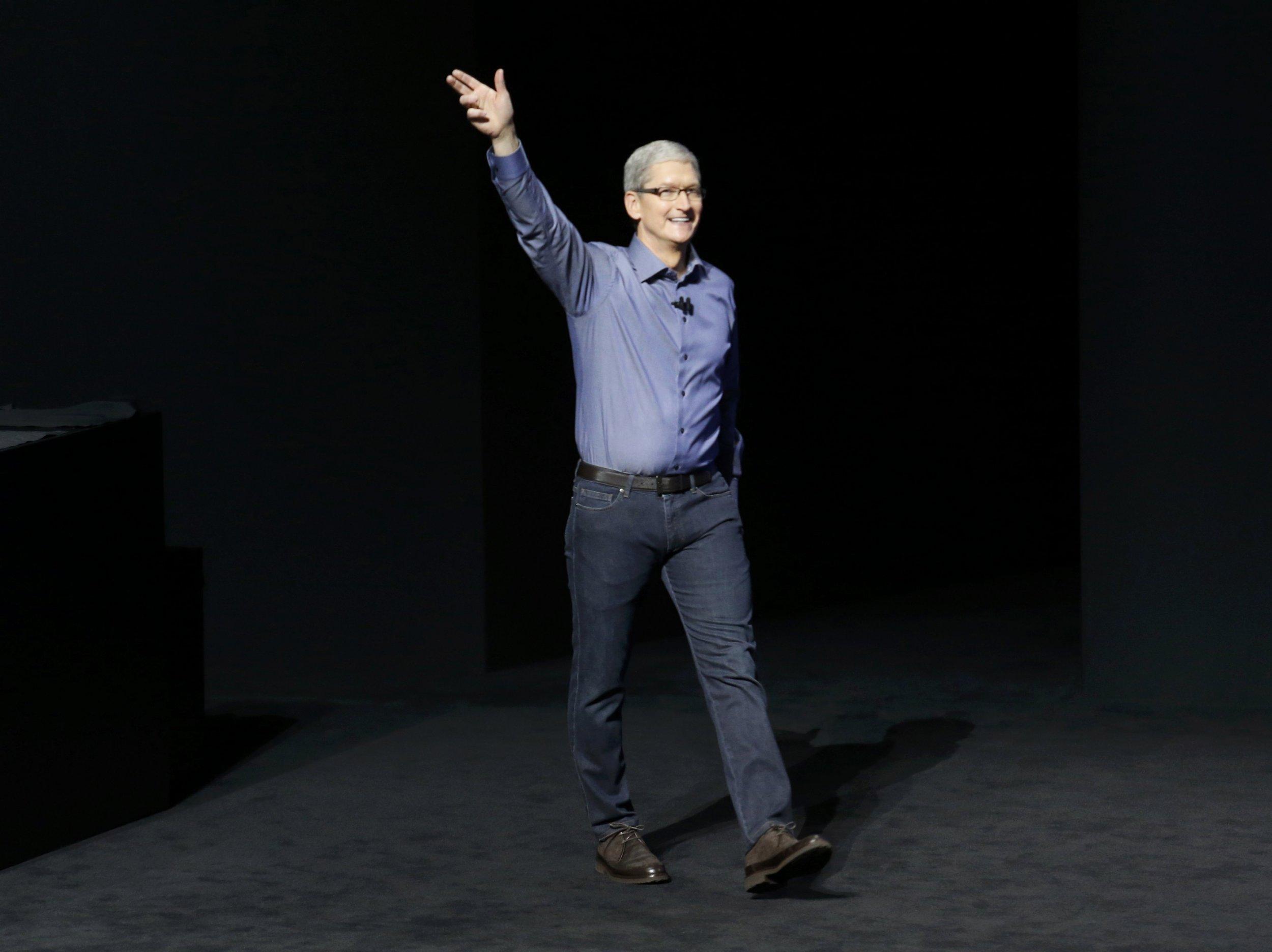 Tim Cook Apple Announcement 9 9 2015