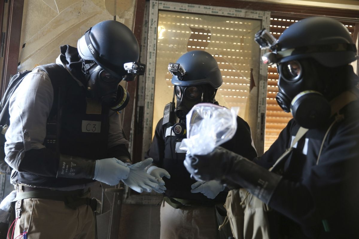U.N. chemical weapons