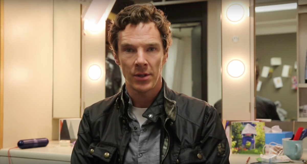 Benedict Cumberbatch Appears in Video