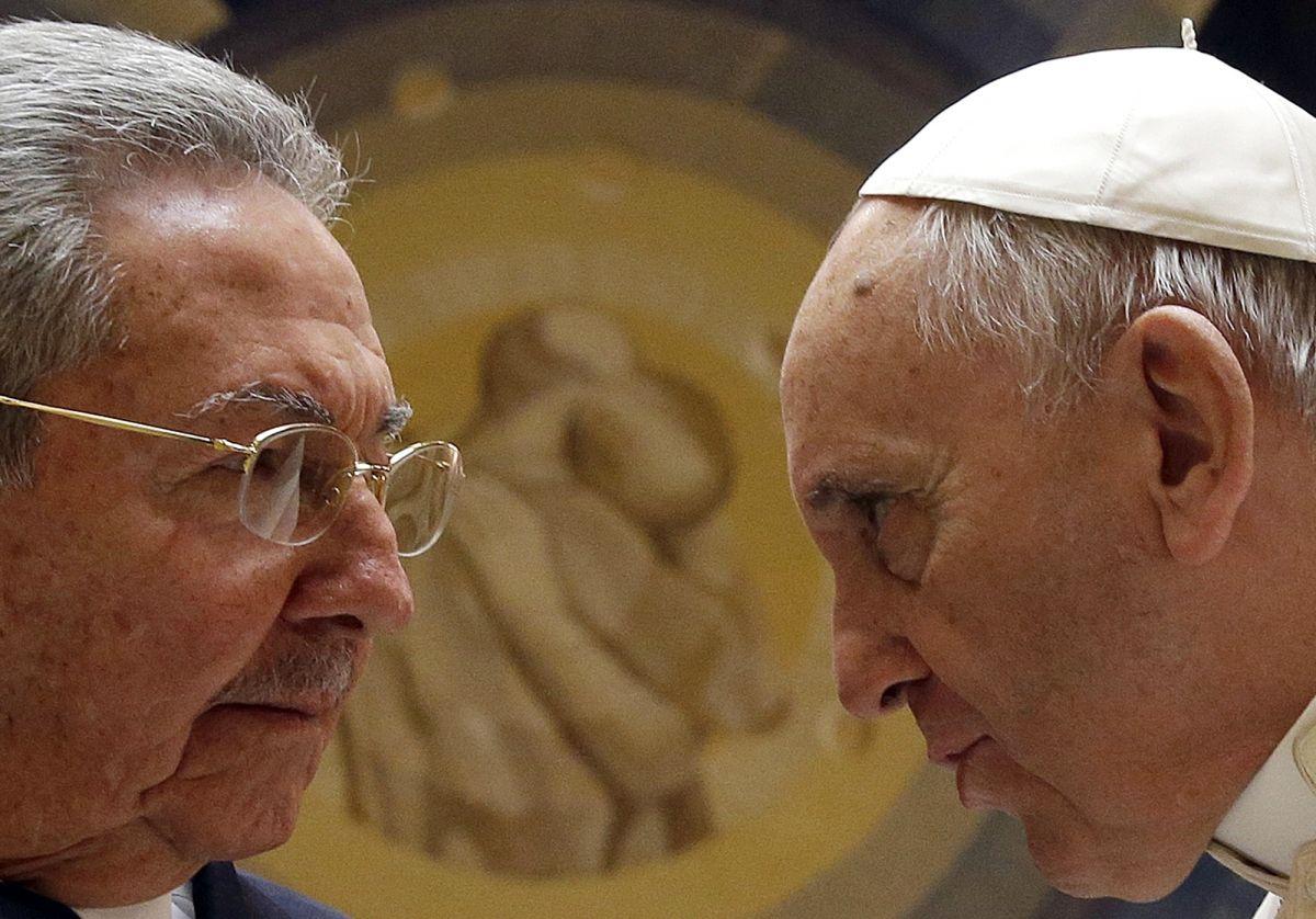 Pope Francis Castro Cuba Prisoners