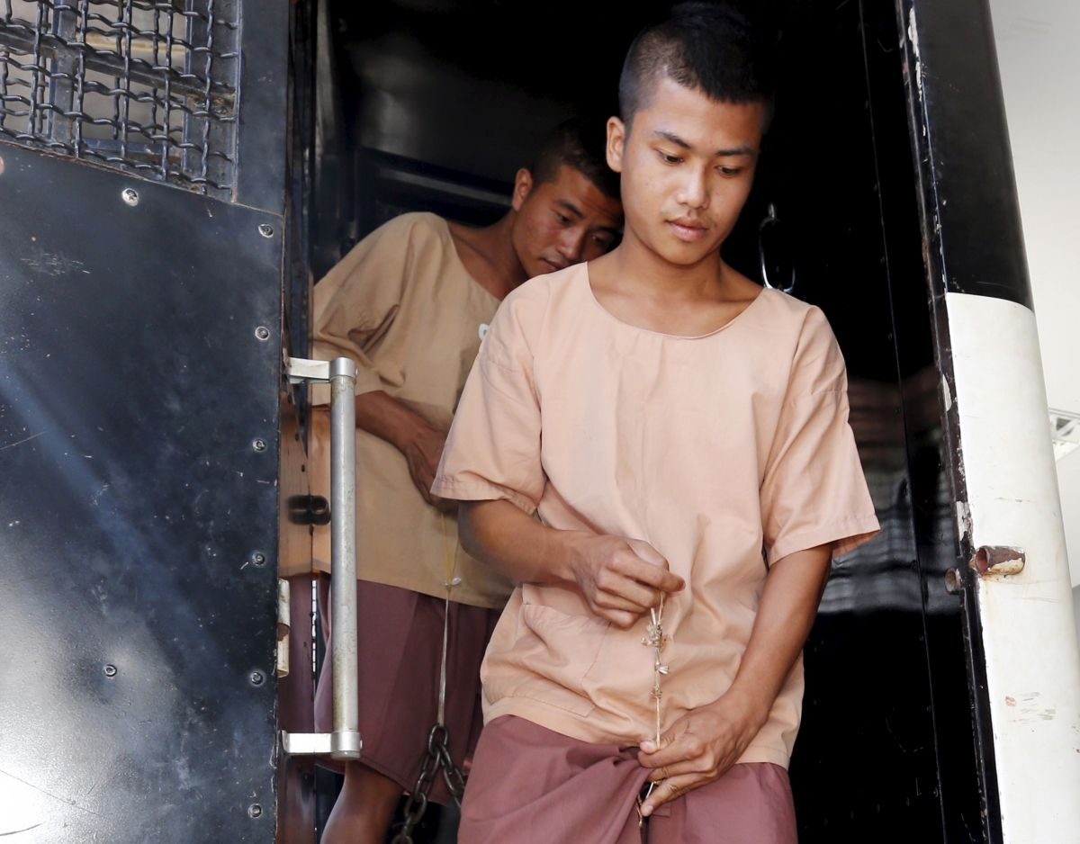 Thai backpacker murders suspects
