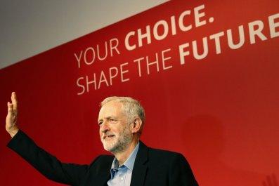 Jeremy Corbyn wins Labour leadership race