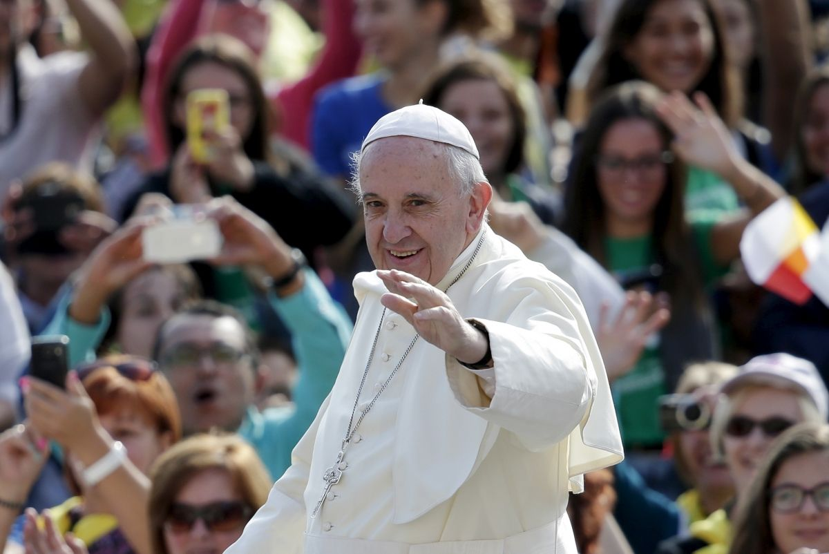 Threat to Pope Francis 'disrupted'
