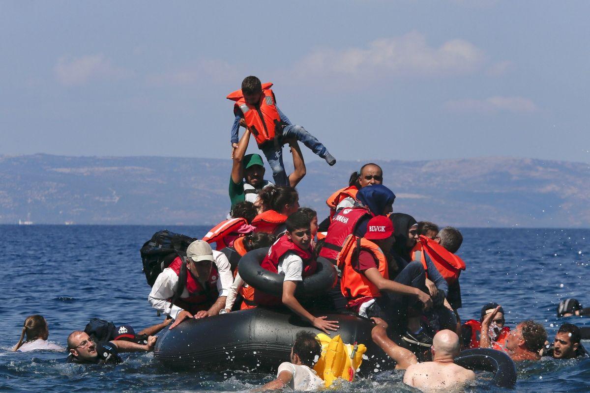 Mediterranean smuggler boat