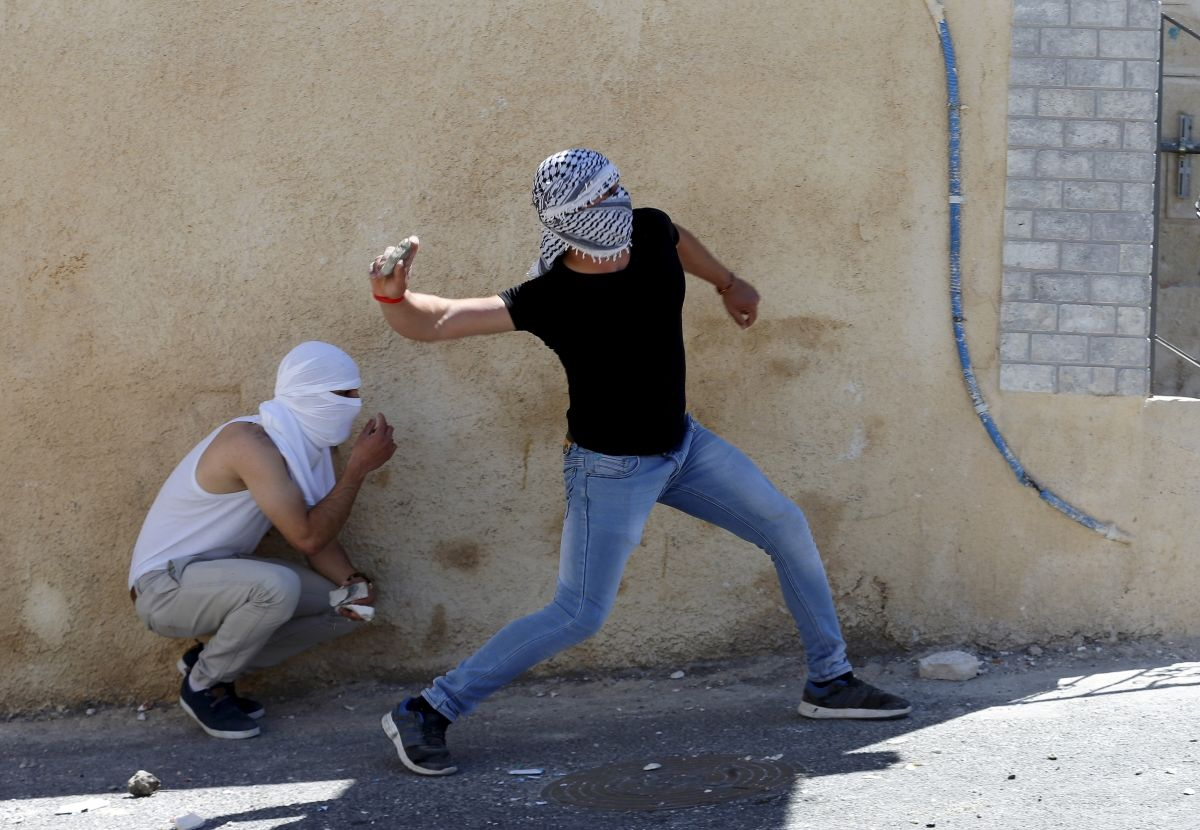 Israel Stone-Throwers Middle East