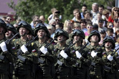 Russia military parade