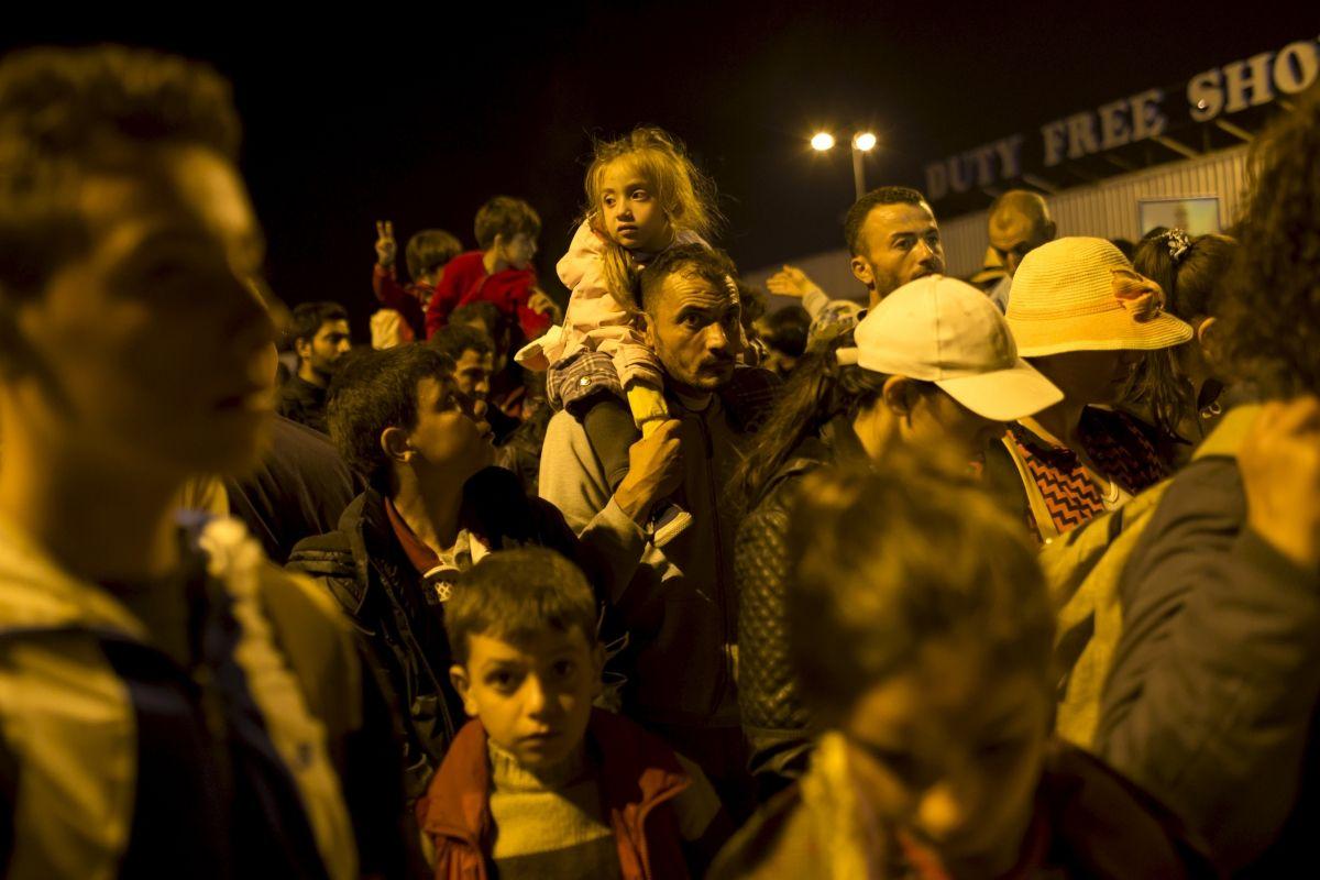 Hungary Migrants Refugees Europe EU
