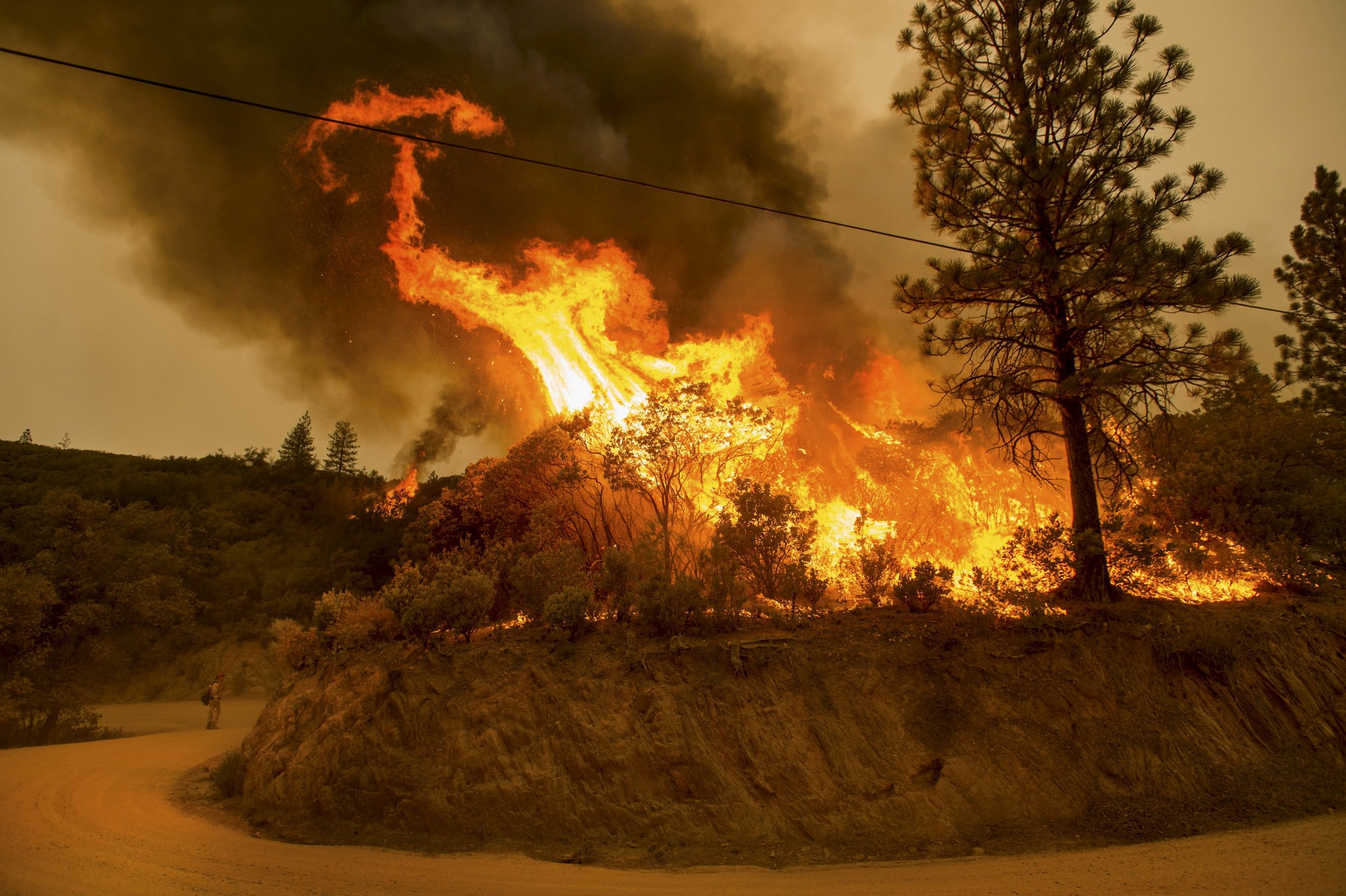 Photos Show Devastation Wrought By California Wildfires