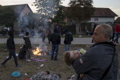 Refugees Serbia