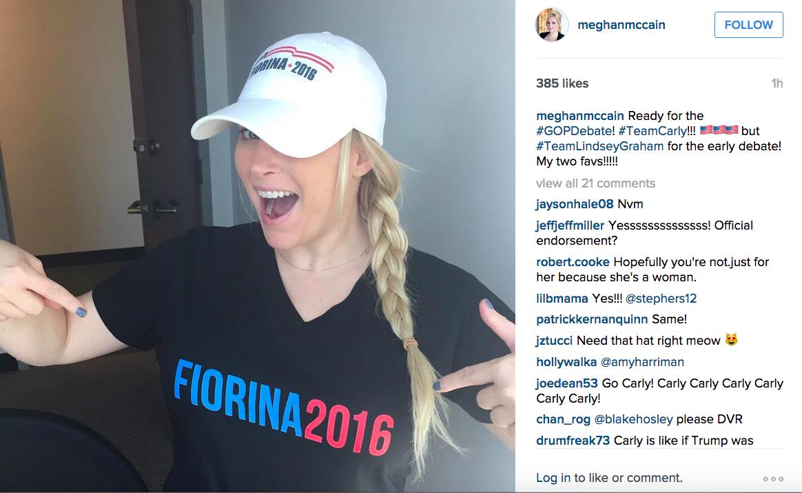Meghan McCain/Instagram