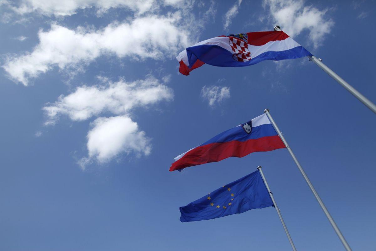 Croatia Slovenia EU