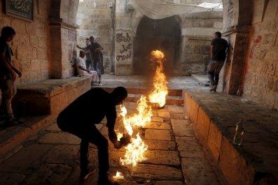 Jerusalem Israel Clashes Al-Aqsa