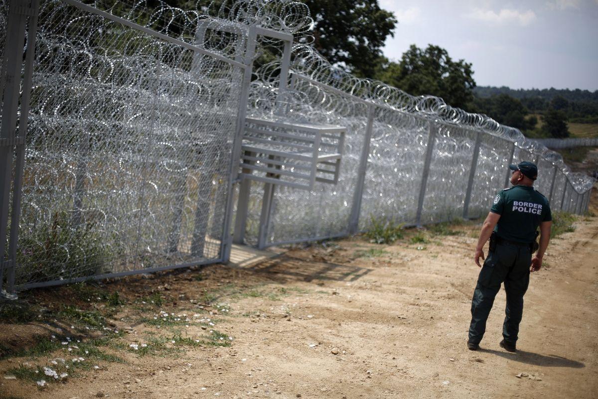 Bulgaria Turkey fence