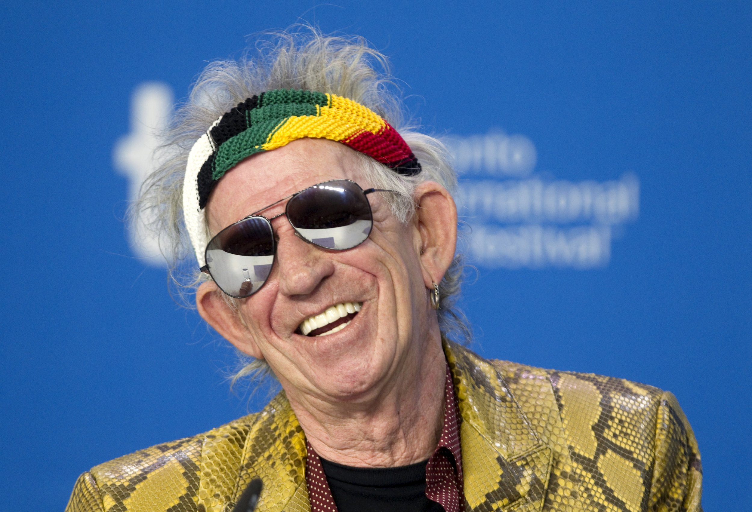 The Many Antics of Late-Period Keith Richards
