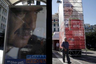 Greece Syriza Europe EU Election