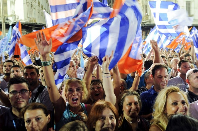 New Democracy Tsipras Greece Election