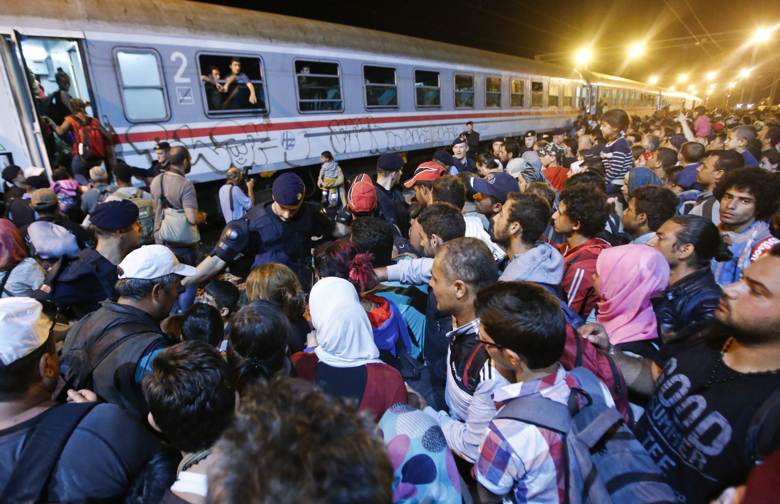 0918_Croatia Refugees Migrants