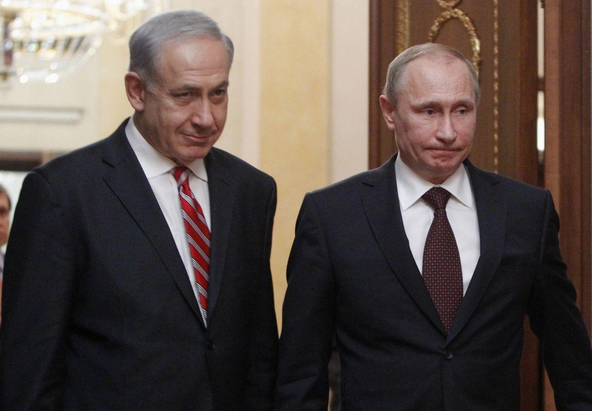 Netanyahu Putin meet in Moscow