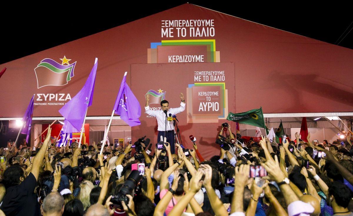 Tsipras hails clear mandate