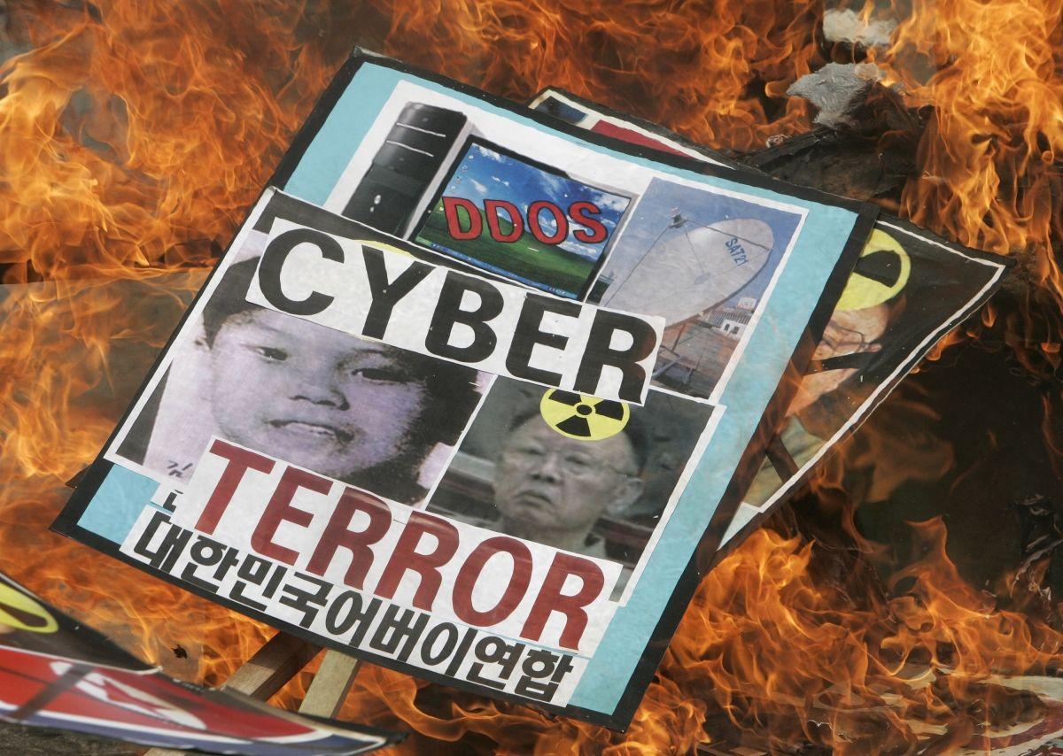 North Korea cyber protests