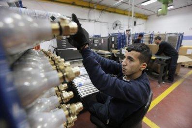 SodaStream Israel Middle East Refugees