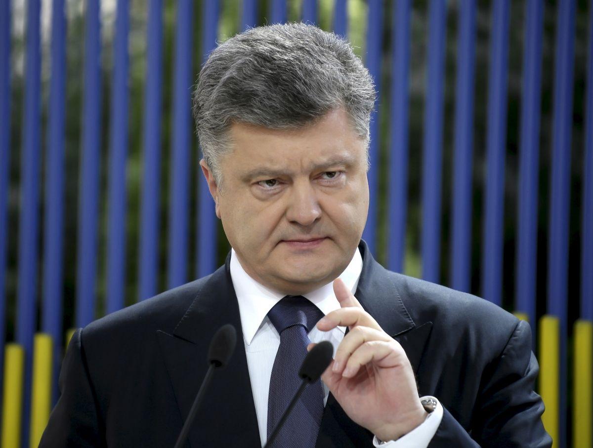 Petro Poroshenko exclusive for Newsweek
