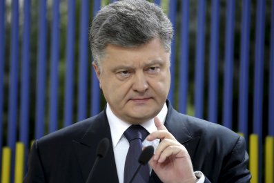 Petro Poroshenko exclusive for Newsweek