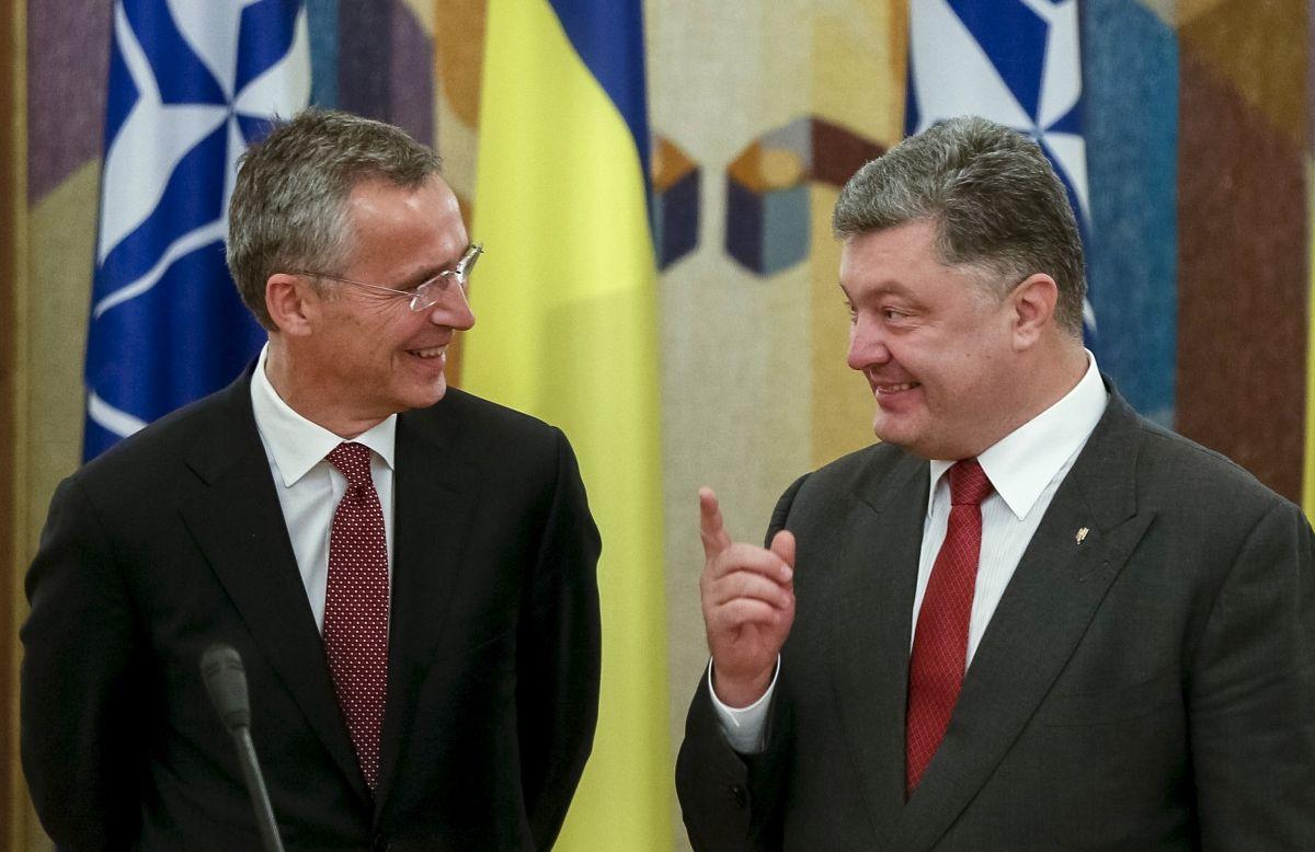 Ukraine's president to hold NATO referendum