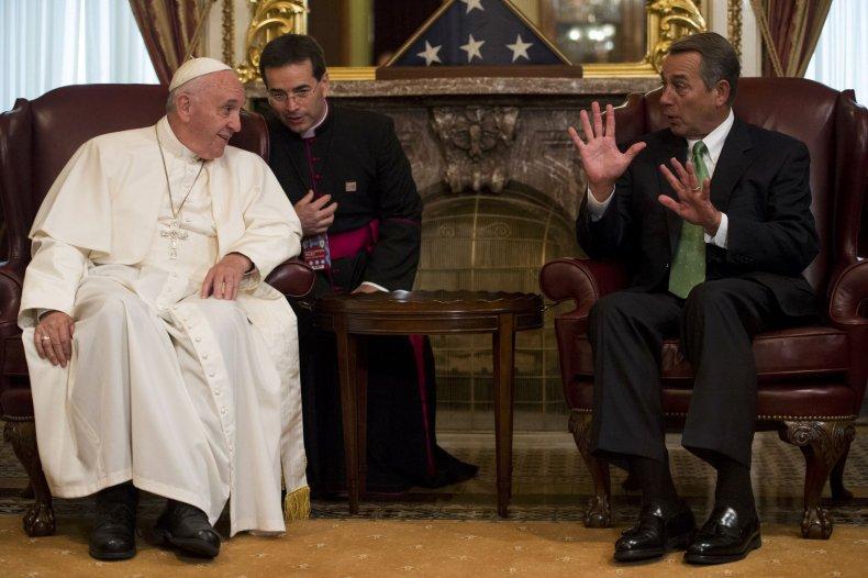 John Boehner meets the pope