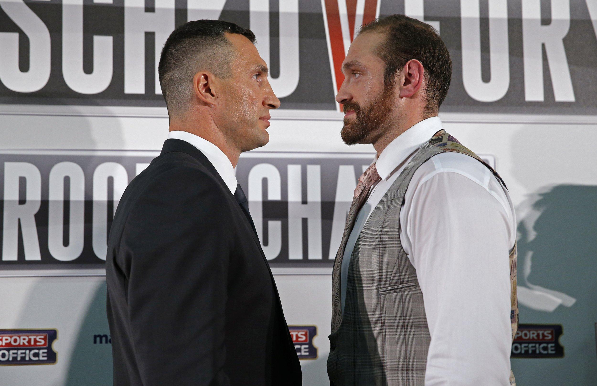Wladimir Klitschko Postpones Heavyweight Title Fight Against Tyson Fury