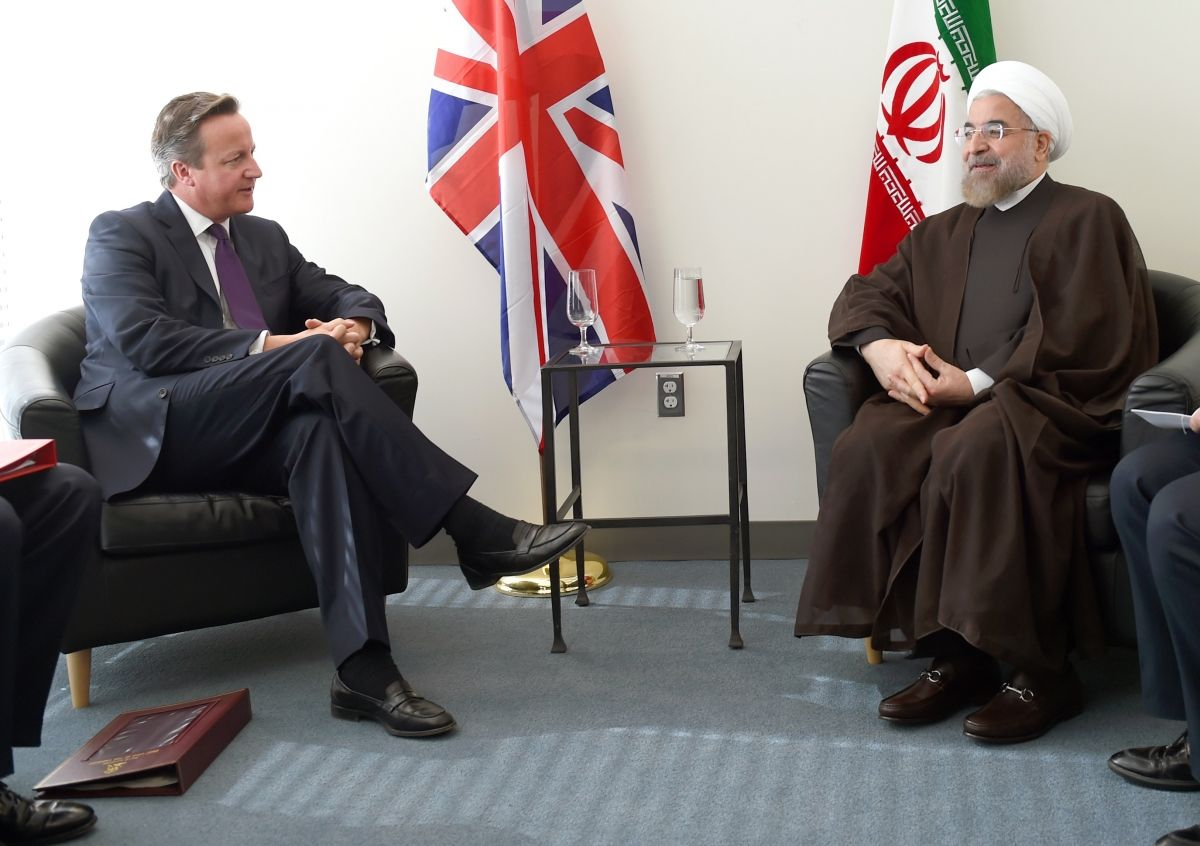 Iran Britain Middle East Syria